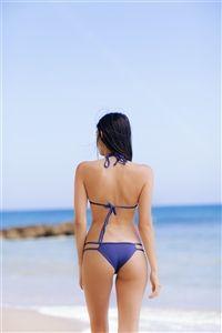 Frankie's Bikinis Oceanside in Catalina Blue