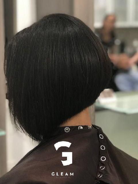Perfect Bob Gleam Hair Studio Miami Best Hair Salon Hair Studio Cool Hairstyles