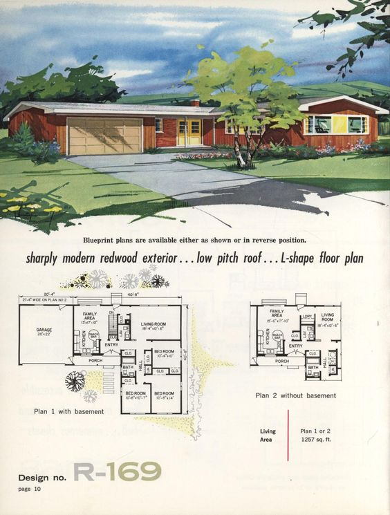 Pinterest the world s catalog of ideas for 1960s ranch house plans