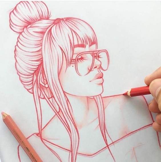Drawing Girl Art Pencil Drawing Visit My Youtube Channel To