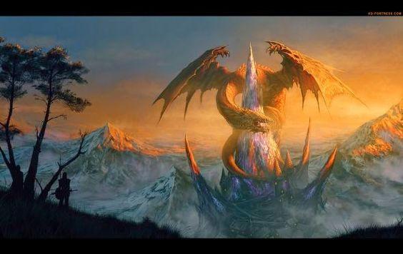 Randis Albion deviantart ilustrações fantasia ficção games