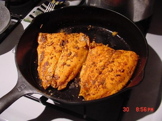 Blackened salmon salmon and apple wine on pinterest for 1895 cajun cuisine menu