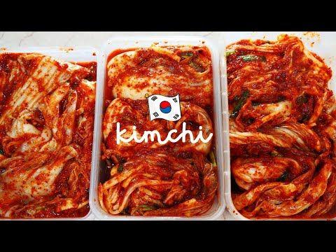 Jangan Salah Bikinnya Ini Resep Kimchi Yg Benar Agar Enak Tahan Lama Halal Youtube Di 2020 Kimchi Resep