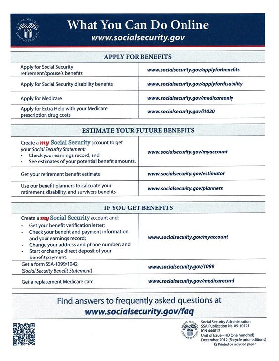 Social Security Administration ~ US Citizen \/ Child - How to - disability application form