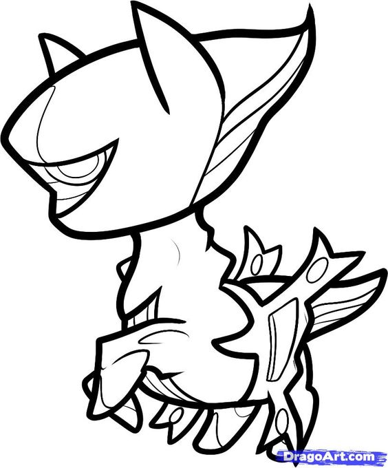 chibi pokemon printable coloring pages - photo#6