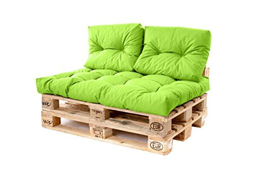 Gardenista Outdoor Garden Tufted Pallet Seating Small Bac Https Smile Amazon Co Uk Dp B07c5v7mpp Ref Cm Sw R Pi Dp Pallet Sofa Cushions On Sofa Small Sofa