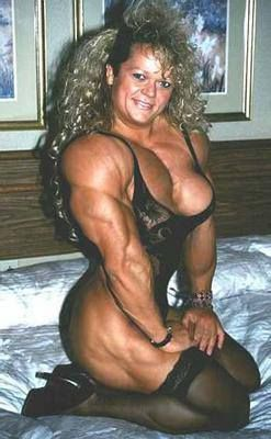 Female Bodybuilders - Big and Beautiful Karla Nelsen