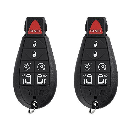 Saverremotes 7 Button Key Fob Compatible For 2008 2015 Chrysler Town And Country 2008 2014 Do Accesorios Para Jeep Cherokee Accesorios Para Jeep Jeep Cherokee