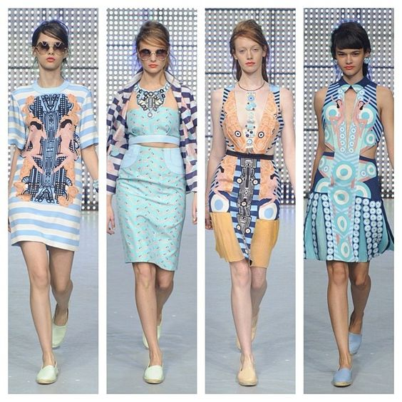 Love these nude women + art deco prints from Holly Fulton Spring 2013 at LFW! @studio_fulton #lfw #london #londonfashion #londonfashionweek #uk #fashion #fashionweek #fashionphotography #supermodels #photography #runway #runwaylooks #runwayfashion #spring2013 #spring #2013 #artdeco #ia #imageamplified @troy_wise @5by5forever
