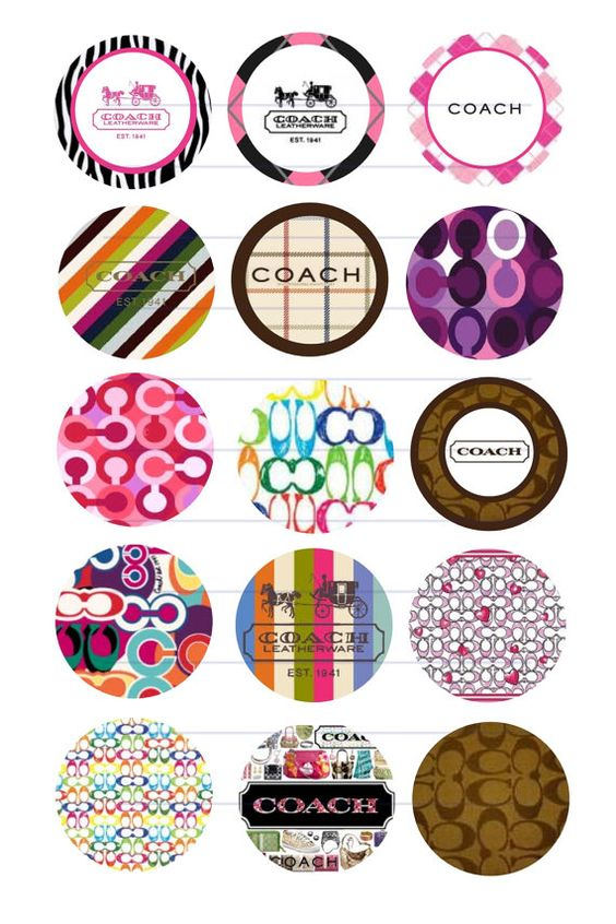 Circles design and coaches on pinterest for Bottle cap designs