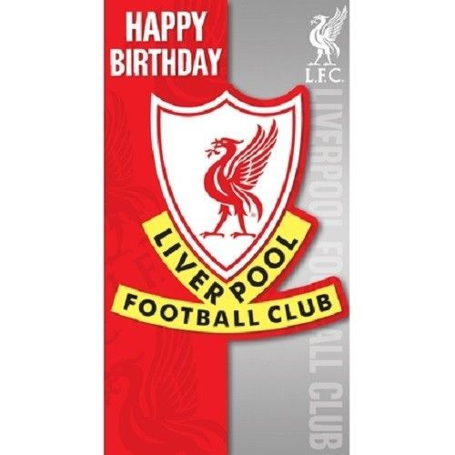 2 49 Gbp Football Club Happy Birthday Card Liverpool Manchester United Manchester C Liverpool Manchester United Liverpool Football Club Happy Birthday Cards