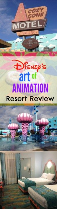 Thorough review of Disney's Art of Animation Resort, including rooms, suites, pools, dining, etc.