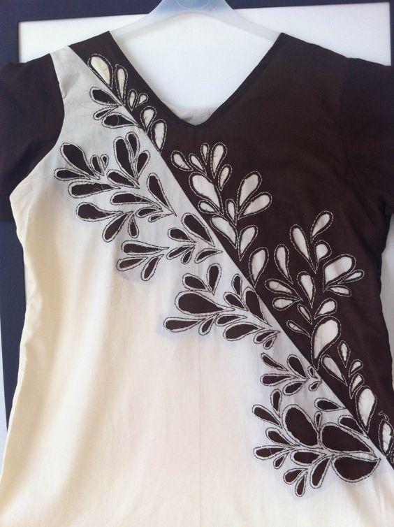 Applique Reverse | Cucire Vestito semplice