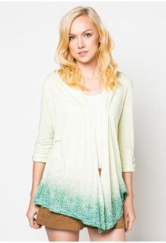 Open Cardigan Gradation
