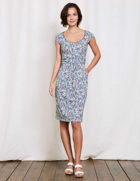 New Boden Margot Jersey Dress Ww187 Dresses At Boden Uk 10r Fashion Clothing Shoes Accessories Womensclothin Jersey Dress Weekend Dresses Stitch Fix Dress