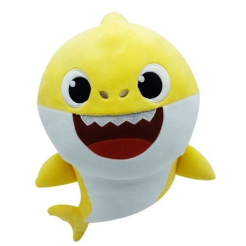 US Kids Baby Plush Shark Toy Singing English Song Cartoon Music Doll Musical Toy