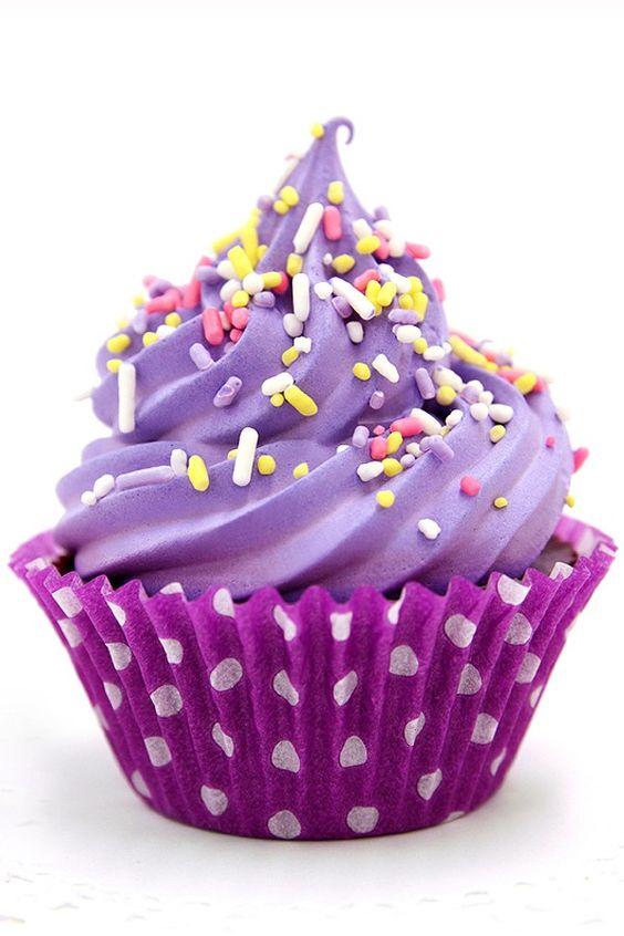 Mojo Spa's Lavender Chocolate Cupcake Soap!
