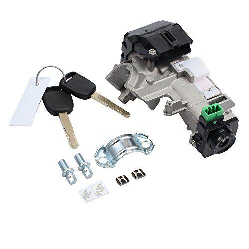 Neoteck Ignition Switch Cylinder Lock Auto Trans 2 Keys For Honda Accord Civic 2003 2005 Honda Accord Cylinder Lock Civic
