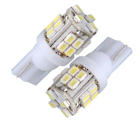 20 Smd Led 3020 T10 W5w Side Number Plate Interior Light Bulb Lamp 12v 6000k Bulb Interior Lighting