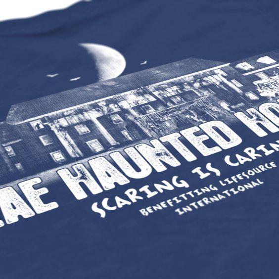 sigma alpha epsilon sae haunted house design philanthropy shirt fraternity shirt check us out at check haunted house