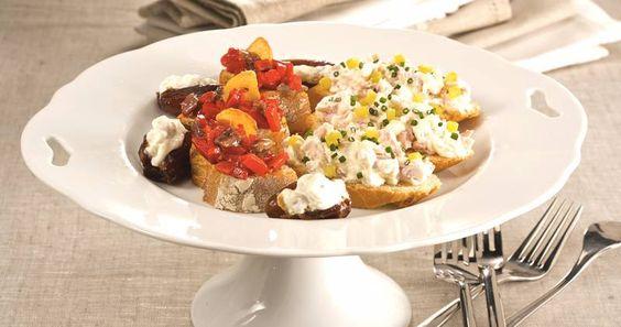 Cocina con nuestras recetas de canapés variados y fáciles. Canapés para los invitados de eventos importantes, reuniones familiares y demás citas.