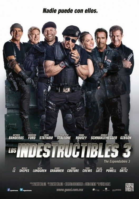 The Expendables 3 Movie Poster 18 Los Indestructibles 3 Los Indestructibles The Expendables
