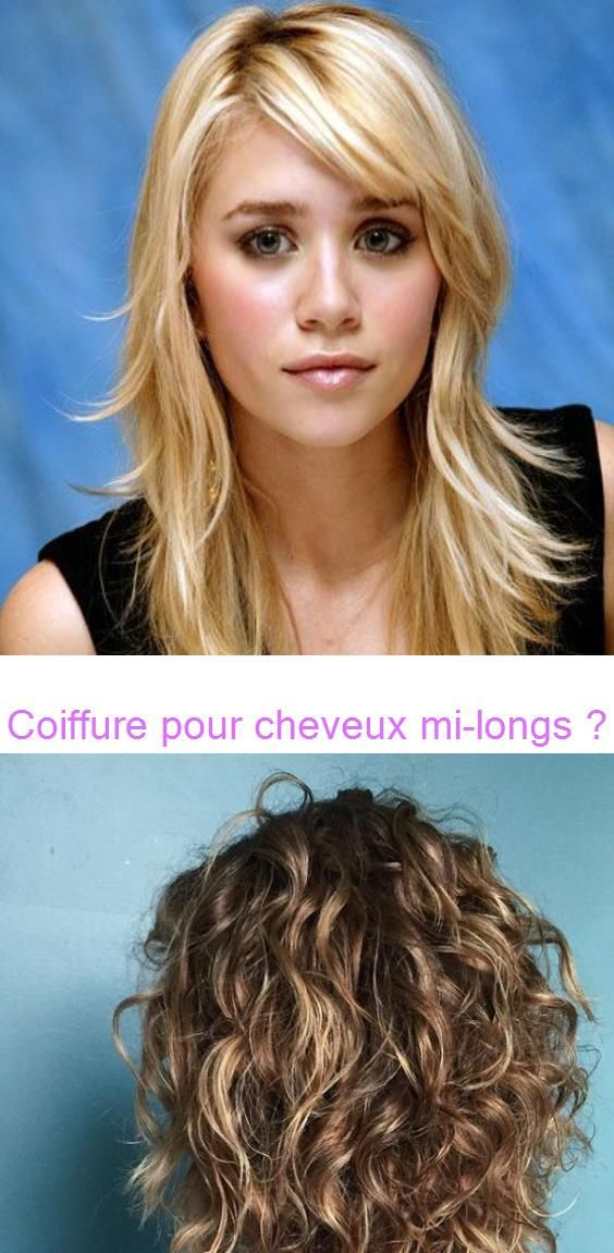 Coiffure Pour Cheveux Mi Longs Coiffure Et Coloration Forum Beaute Our Favorite Hairstyles For Thin Curly Hair In 2020