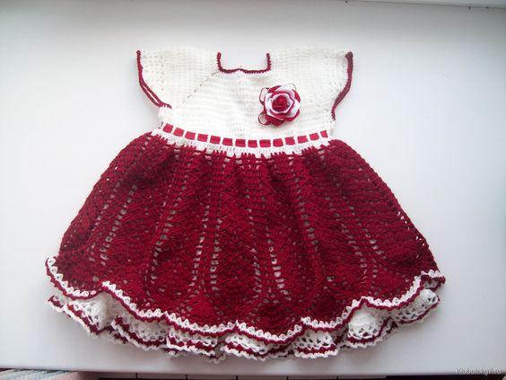 Платье для малышки | Клубок
