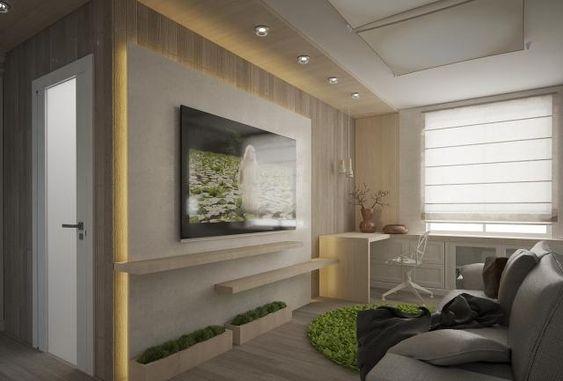 Paneele wohnzimmer ~ Wohnzimmer modern einrichten kleiner raum indirekte beleuchtung