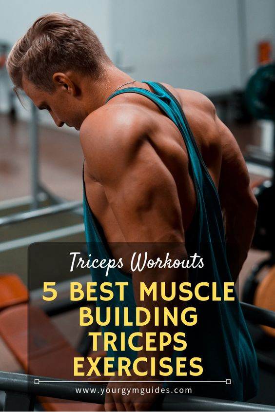 5 best muscles building tricpes exercises