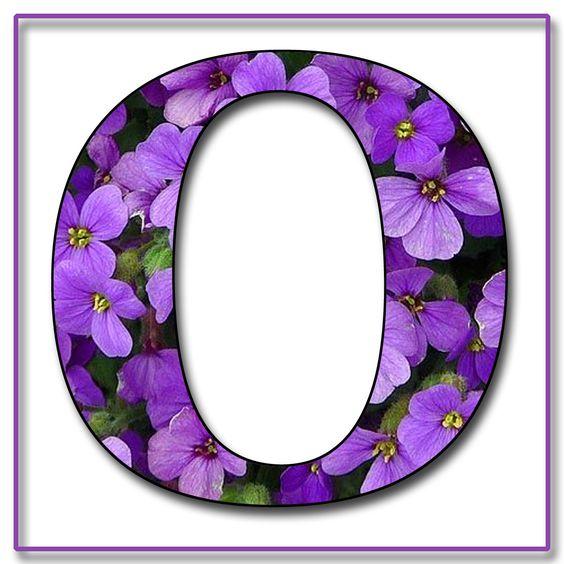 Purple Letter O...
