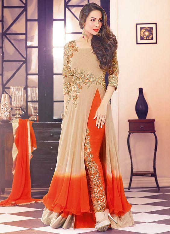 tasteful Bridal Anarkali suit for wedding