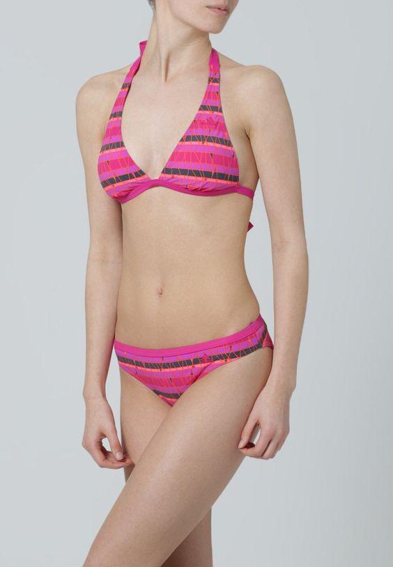 ¡Cómpralo ya!. adidas Performance Bikini bold pink/midnight/flash red.  , bikini, bikini, biquini, conjuntosdebikinis, twopiece, trisuit. Bikini  de mujer color violeta rojizo de Adidas performance.