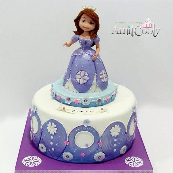 Pictures Of Princess Sofia Cake : Princess sofia, Cakes and Princesses on Pinterest