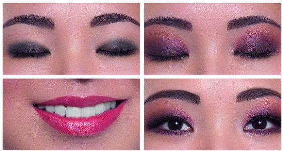 maquiagem pra noite para olhos orientais