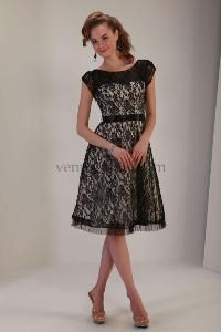 A great modest lace bridesmaid dress or modest semi formal dress ...
