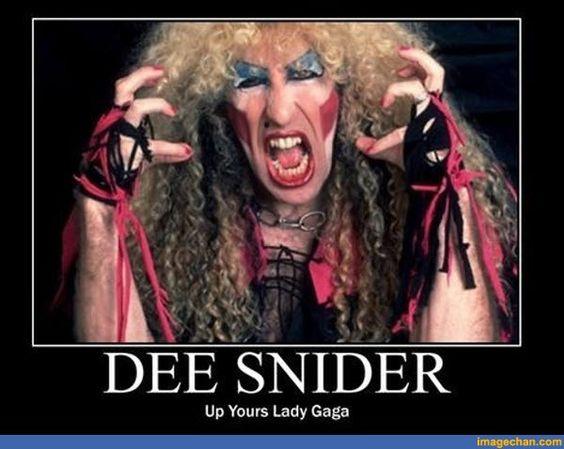 Bildergebnis für Snider Twisted Sister shows middle finger