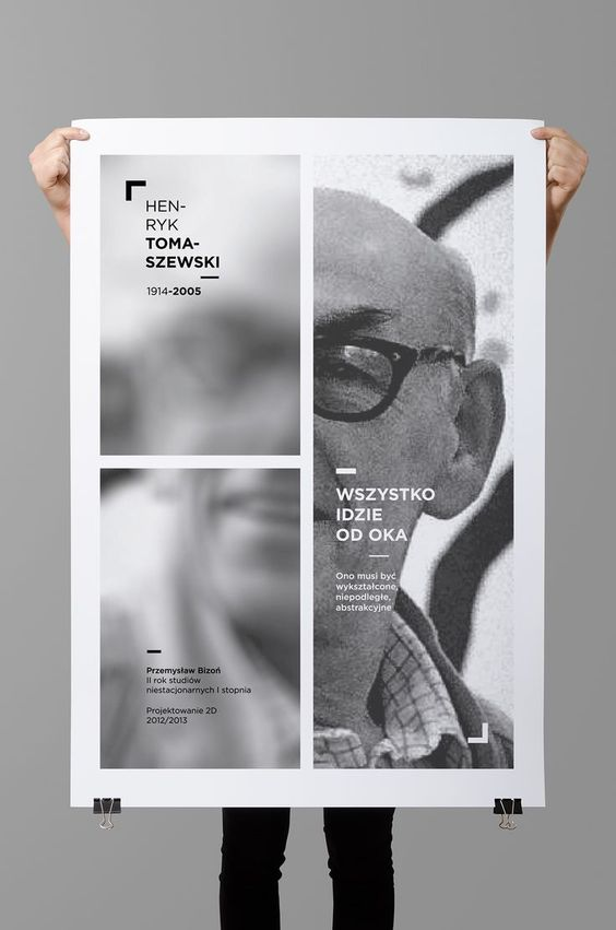 Photo, simple shape, blur | 30 Beautifully Designed Posters | From up North
