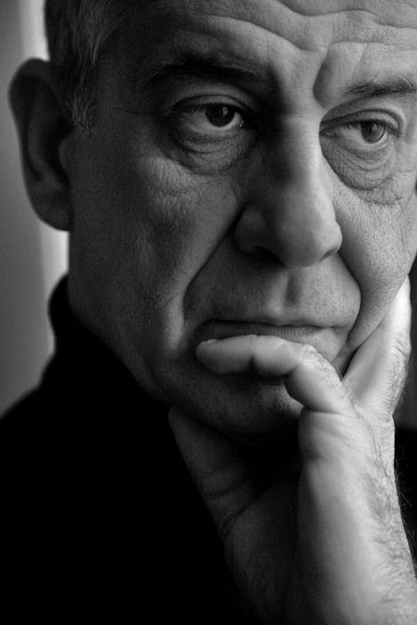 Ferdinando Scianna ITALY, Milan: italian actor Toni SERVILLO.