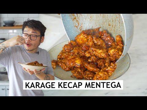 Karage Nya Diginiin Biar Kabita Resep Ayam Karage Kecap Mentega Youtube Resep Ayam Masakan Resep Masakan