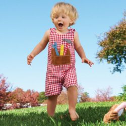 MUDPIE website....cute baby clothes and monogramming...this shortall is $18