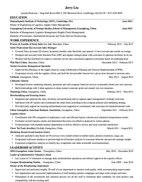 Credit Analyst Resume Sample -    resumesdesign credit - supply chain resumes