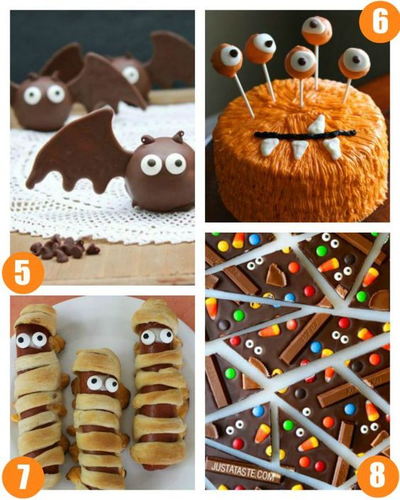 Halloween Food Crafts Food Crafts And Halloween Foods On