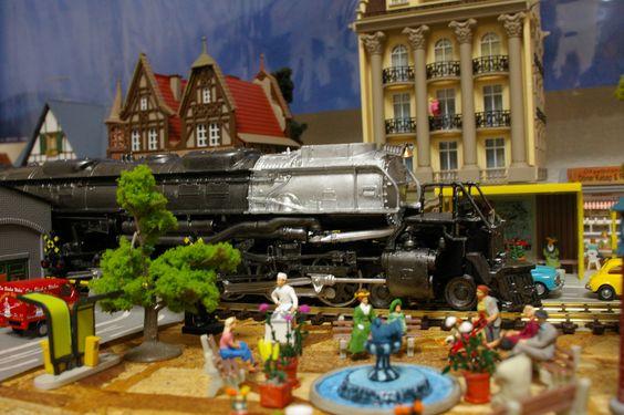 HOゲージジオラマ ユニオンパシフィック鉄道4000形ビッグボーイ http://wp.me/p3kxHi-S3