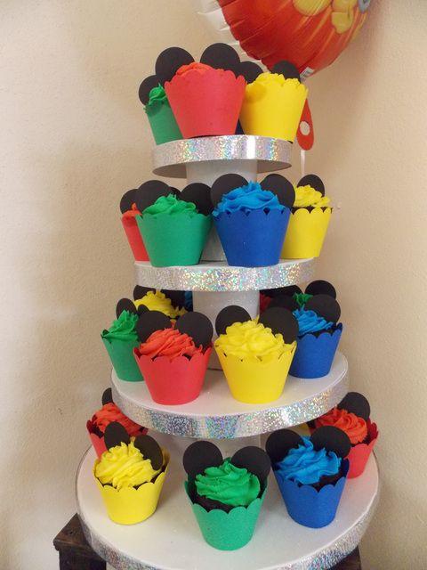 Cupcakes para Festa Mickey