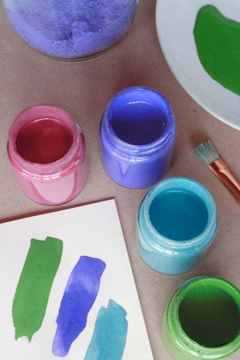 Recette Fabriquer De La Gouache Peinture Faite Maison