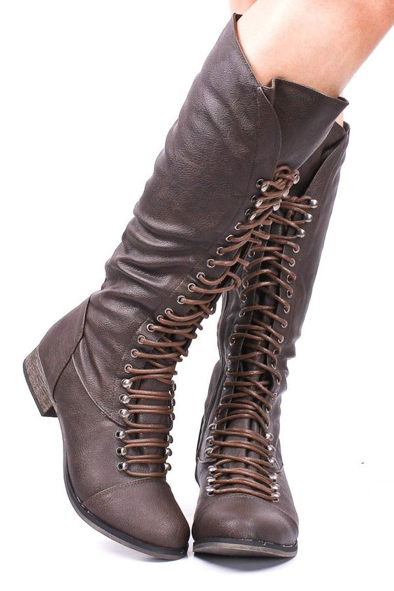 Great faux leather boot! $37