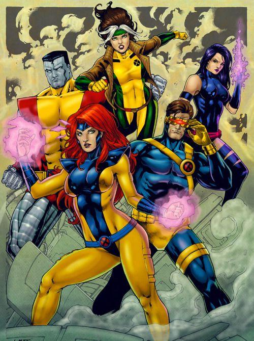 X Men By Leo Matos Marvel Superheroes Xmen Art Marvel Characters