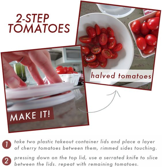 2 - Step Tomatoes (Slicing Tip)