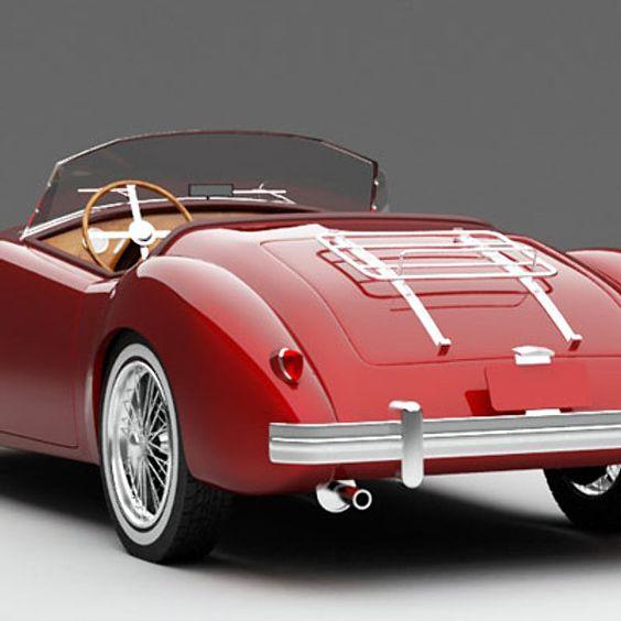 Hemlock Grove Red Sports Car